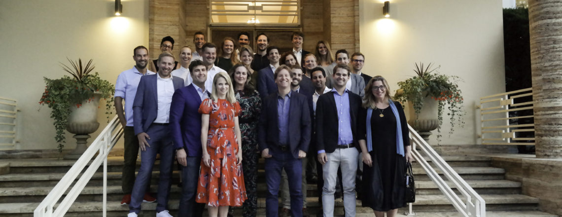 Ambassador hosts event with Marissa Mayer